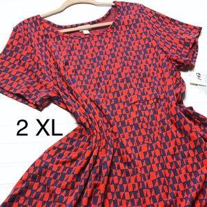2X /XXL Carly Dress